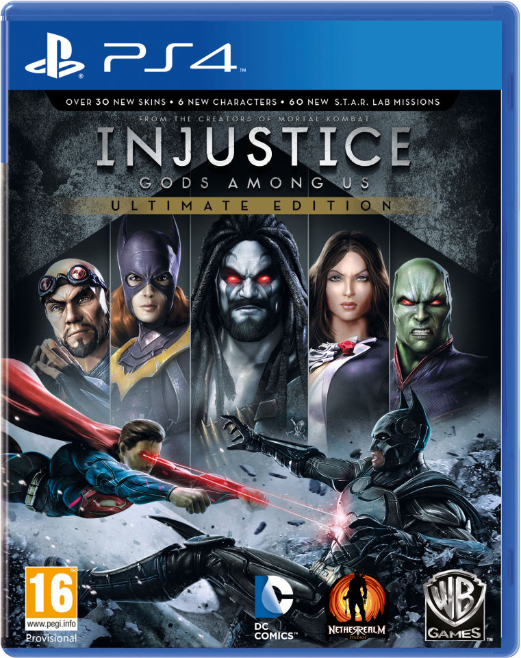 Kết quả hình ảnh cho Injustice _ Gods Among Us - Ultimate Edition cover ps4