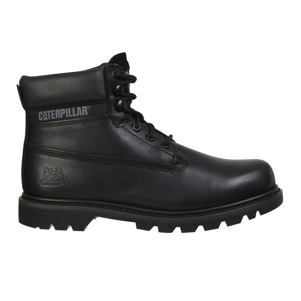 Caterpillar Unisex Colorado Leather Boots Black Mens