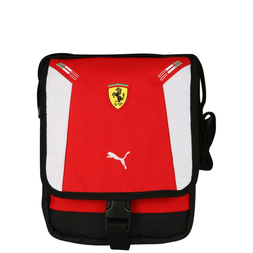 Puma Men S Ferrari Replica Portable Bag Rosso White
