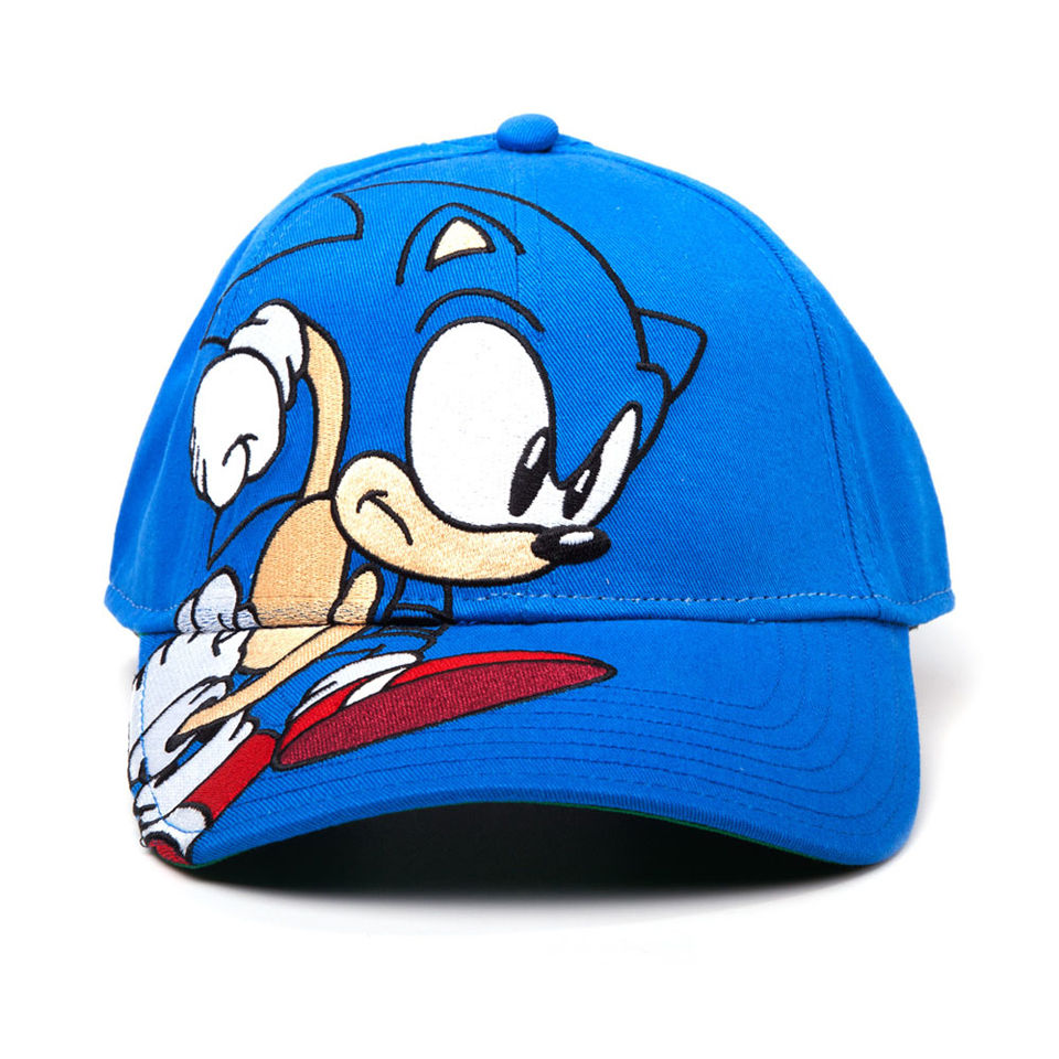 Sega Sonic The Hedgehog Running Baseball Cap Merchandise