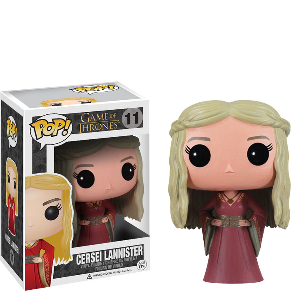 Game Of Thrones Cersei Lannister Pop Vinyl Figure Iwoot