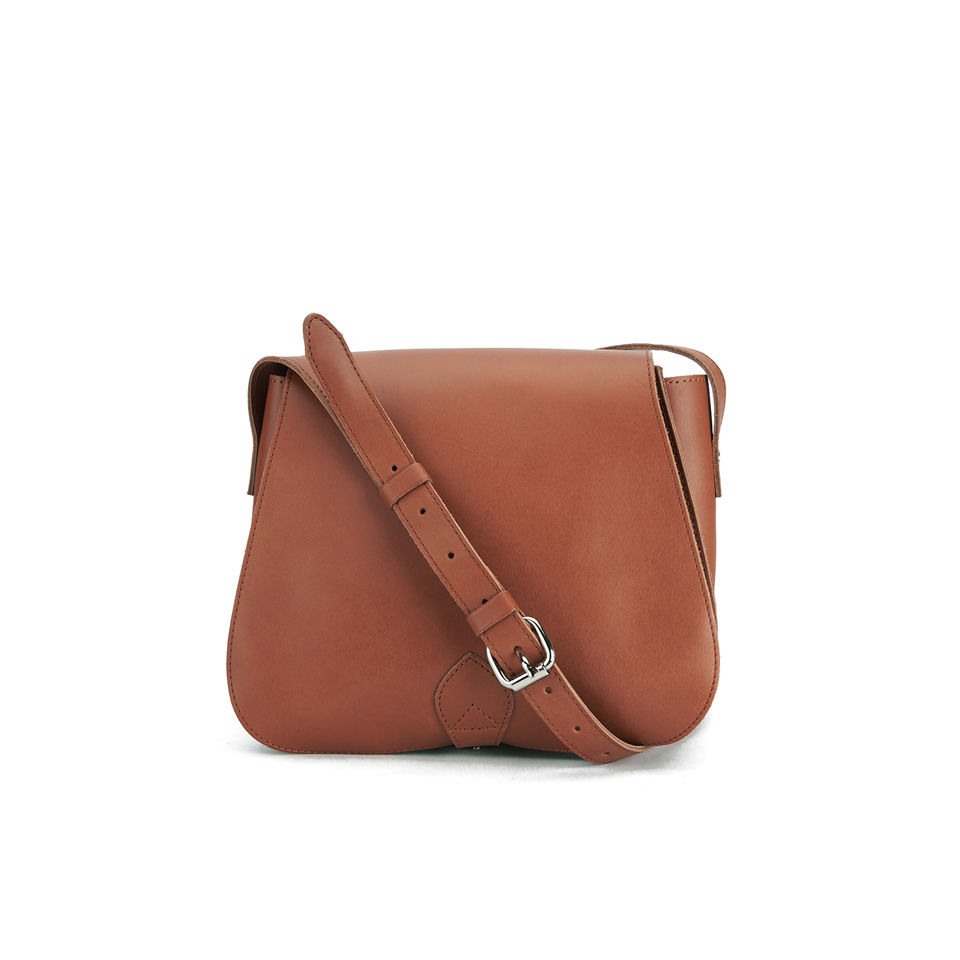 Creative Elliott Lucca Womenu0026#39;s Carine Saddle Bag Cross Body Handbag In Brown | Lyst