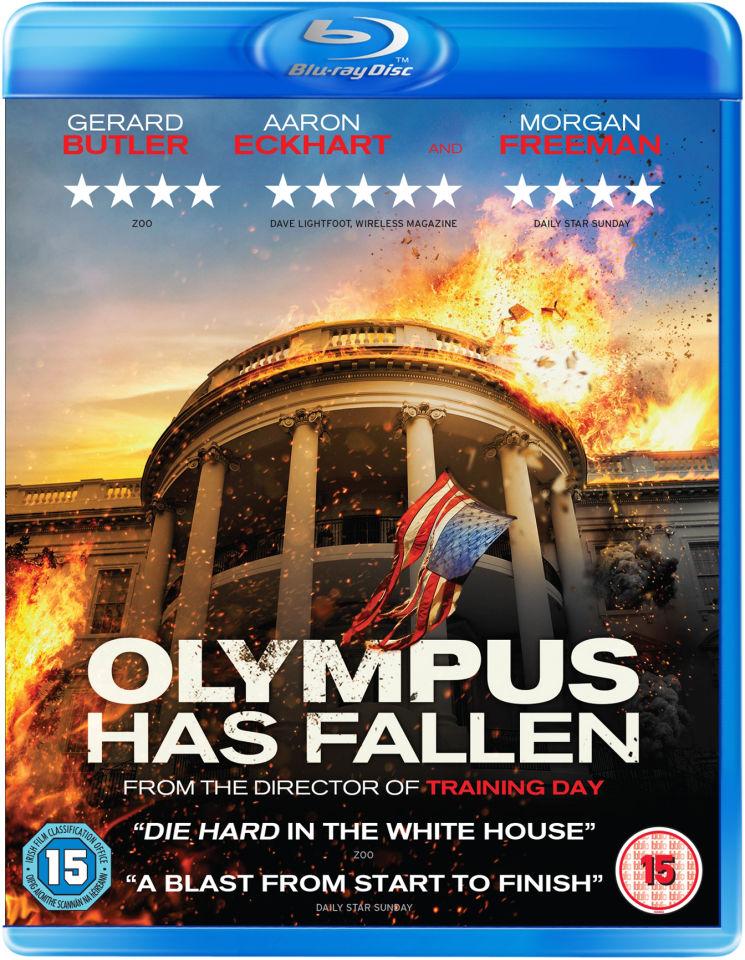 Olympus Has Fallen Blu Ray Zavvi