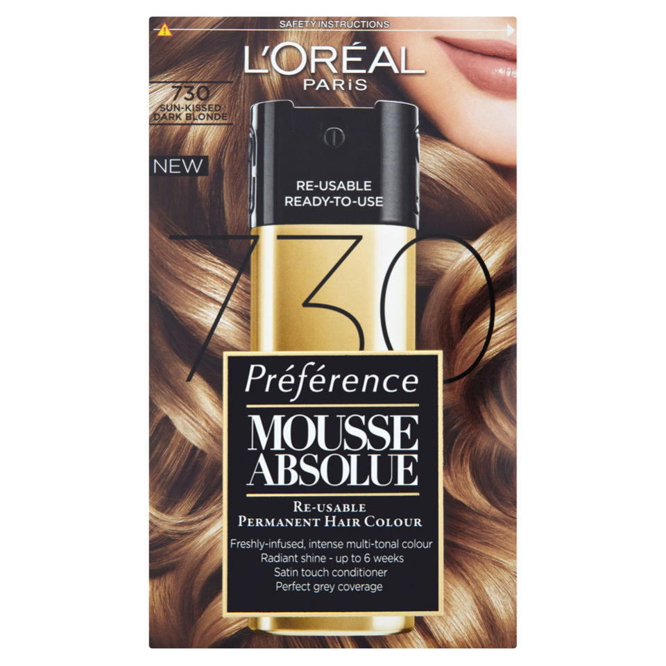 L Oreal Paris Preference Mousse Absolue 730 Sun Kissed