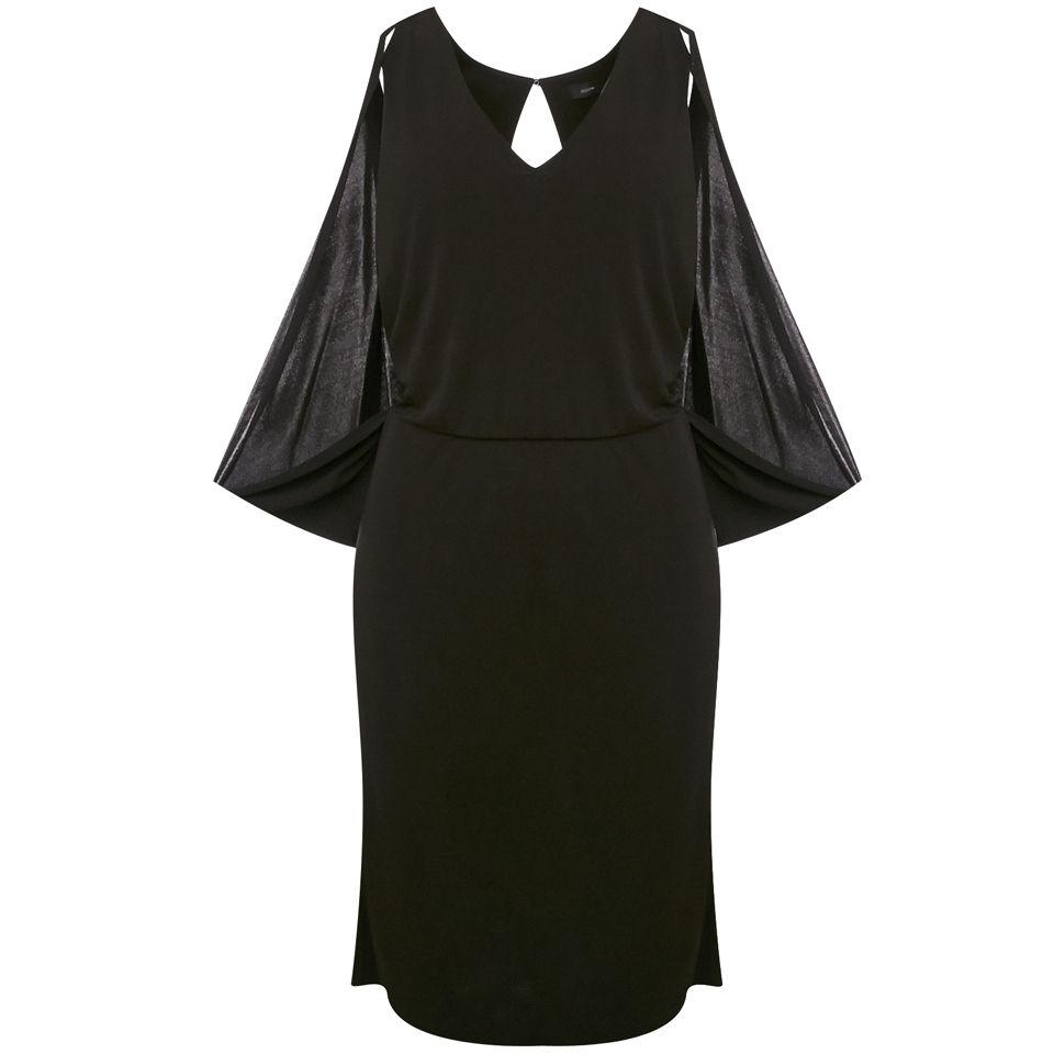 8df4ad4031fb14 Joseph Women s Martine Viscose Jersey Dress - Black - Free UK Delivery over  £50