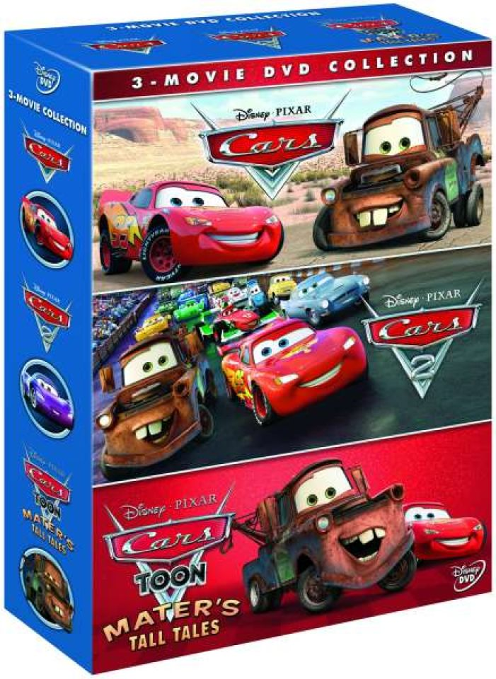 cars 1 2 and cars toon maters tall tales dvd zavvi. Black Bedroom Furniture Sets. Home Design Ideas