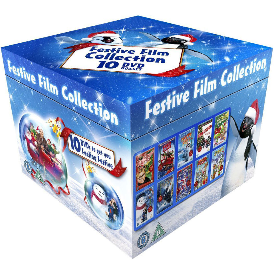 Festive Box Set 2012 Dvd Zavvi