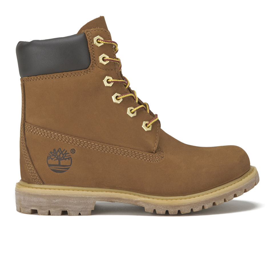 Timberland Women s Earthkeepers 6 Inch Internal Wedge Leather Boots - Rust  Clothing  82581a5fe
