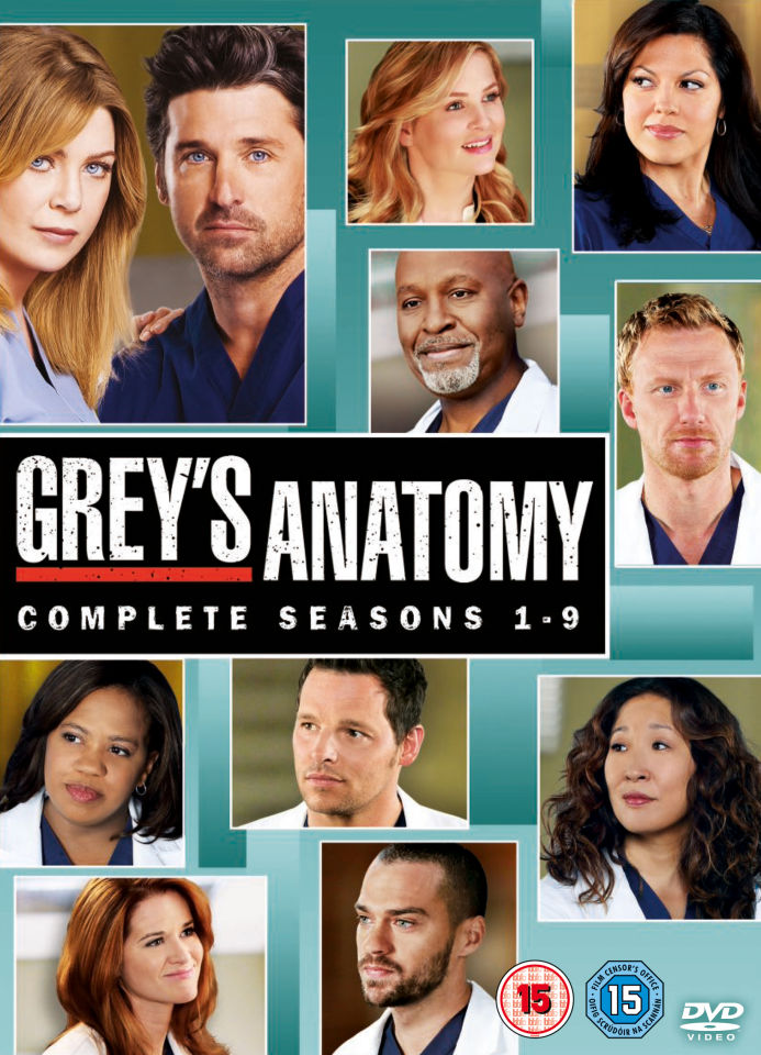 Grey\'s Anatomy - Season 1-9 DVD | Zavvi
