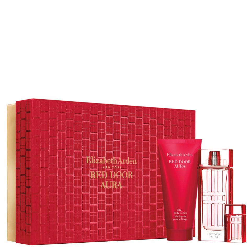 Elizabeth Arden Red Door Aura Gift Set 100ml Perfume Thehut