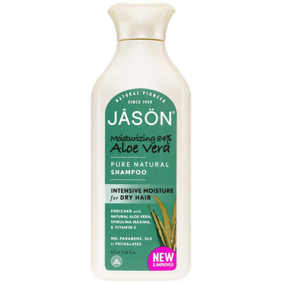 JASON Moisturising Aloe Vera Shampoo (473ml) | Free Shipping | Lookfantastic