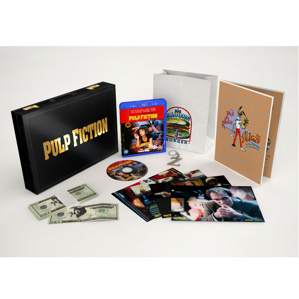 Pulp Fiction The 20th Anniversary Deluxe Box Blu Ray Zavvi