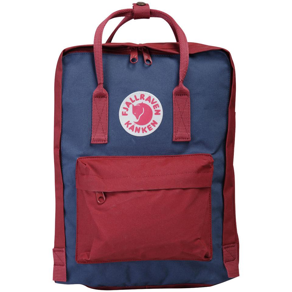 Fjallraven Kanken Backpack Royal Blue Oxford Red
