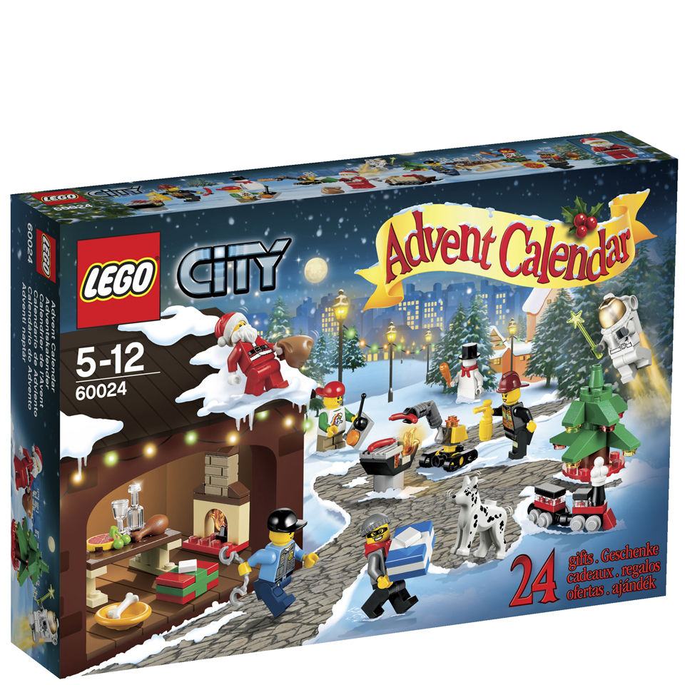 lego advent calendars city advent calendar 60024 toys. Black Bedroom Furniture Sets. Home Design Ideas