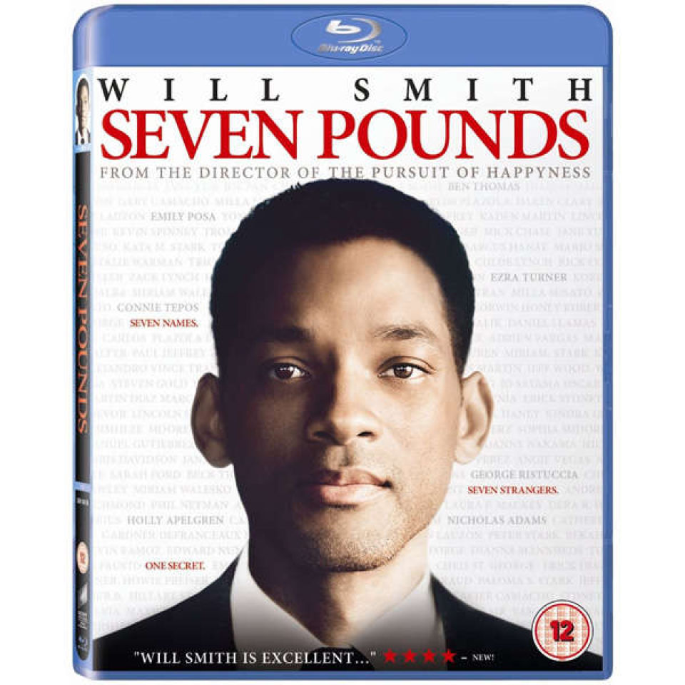 Seven Pounds Blu Ray Zavvi