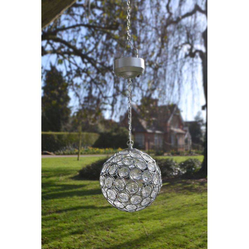 Aria Solar Crystal Hanging Ball Iwoot