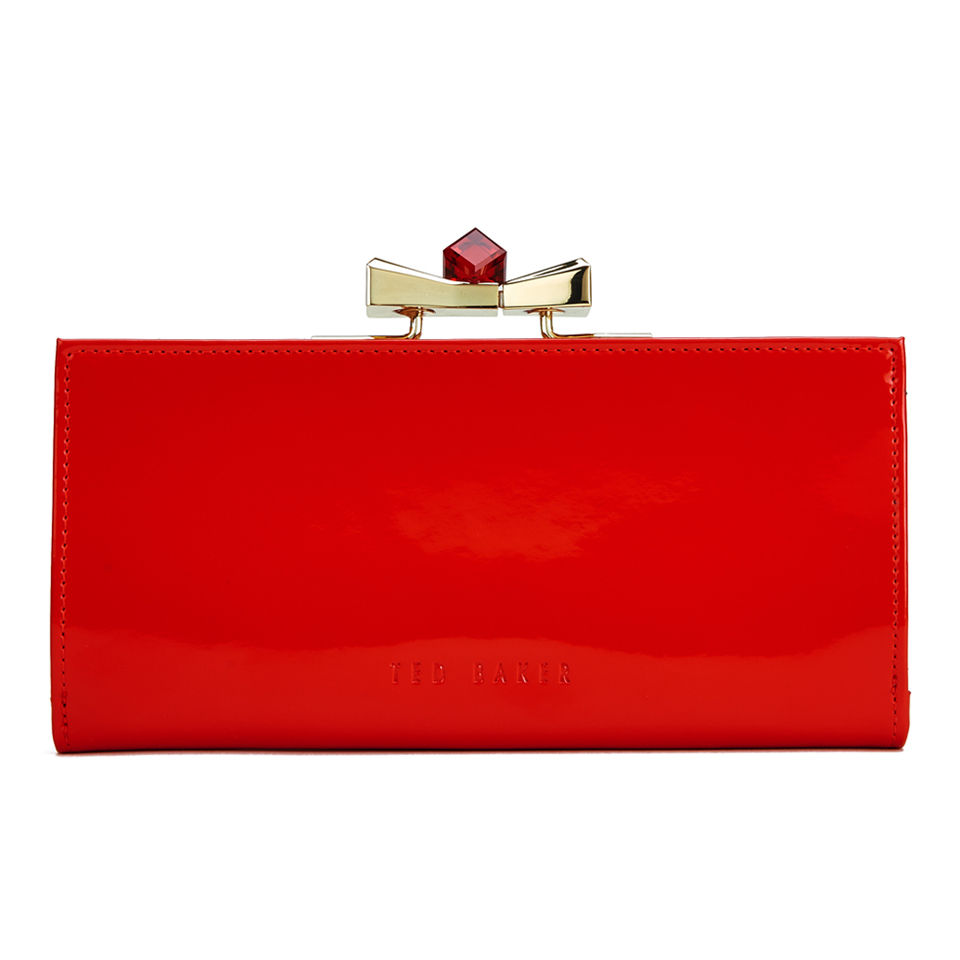 38f51795d237f Ted Baker Women s Franny Patent Crystal Popper Matinee Purse ...