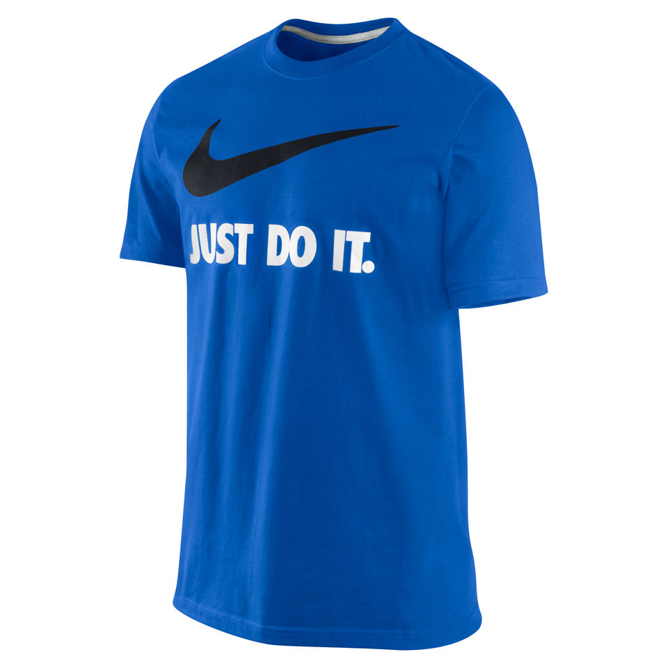 Nike Men 39 S Just Do It T Shirt Game Royal Blue Clothing