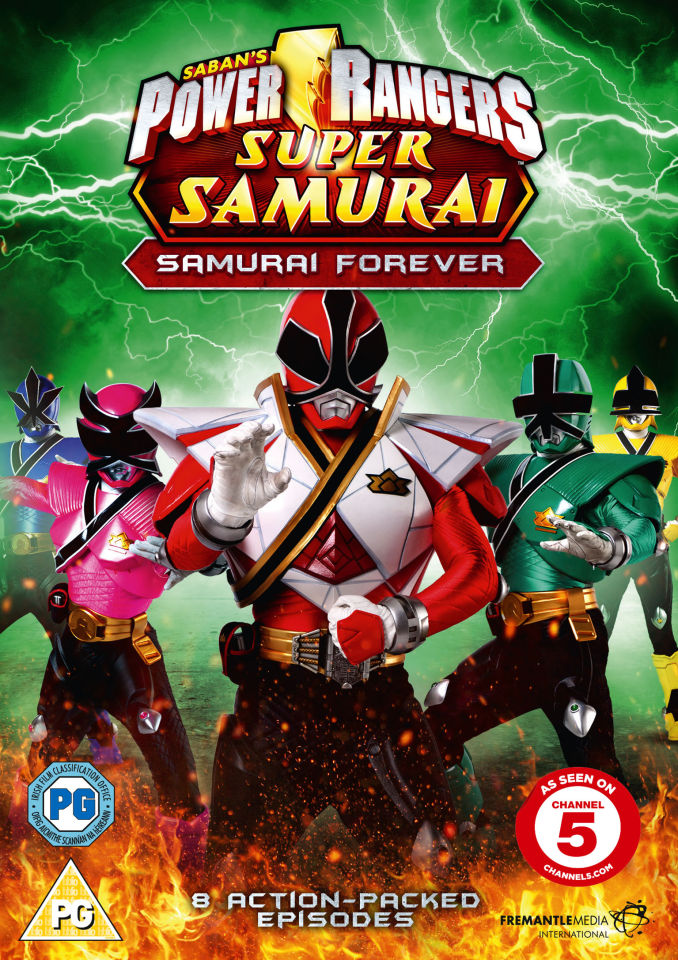 Power Rangers Super Samurai Samurai Forever Volume 3