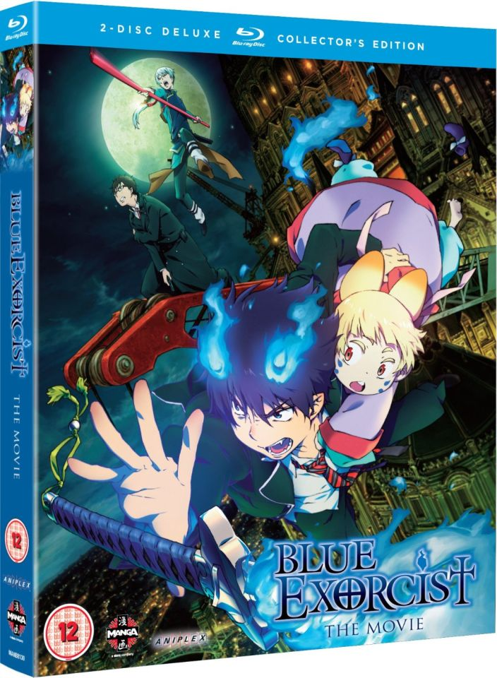 Blue Exorcist The Movie Collectors Edition Double Play