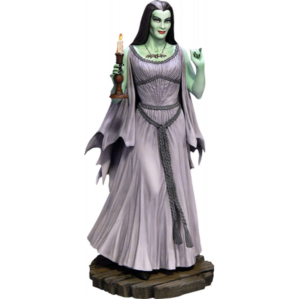 sideshow collectibles the munsters lily statue