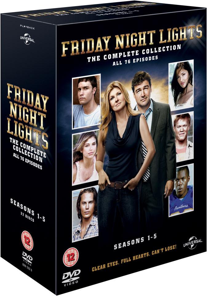 Friday Night Lights Seasons 1 5 Dvd Zavvi