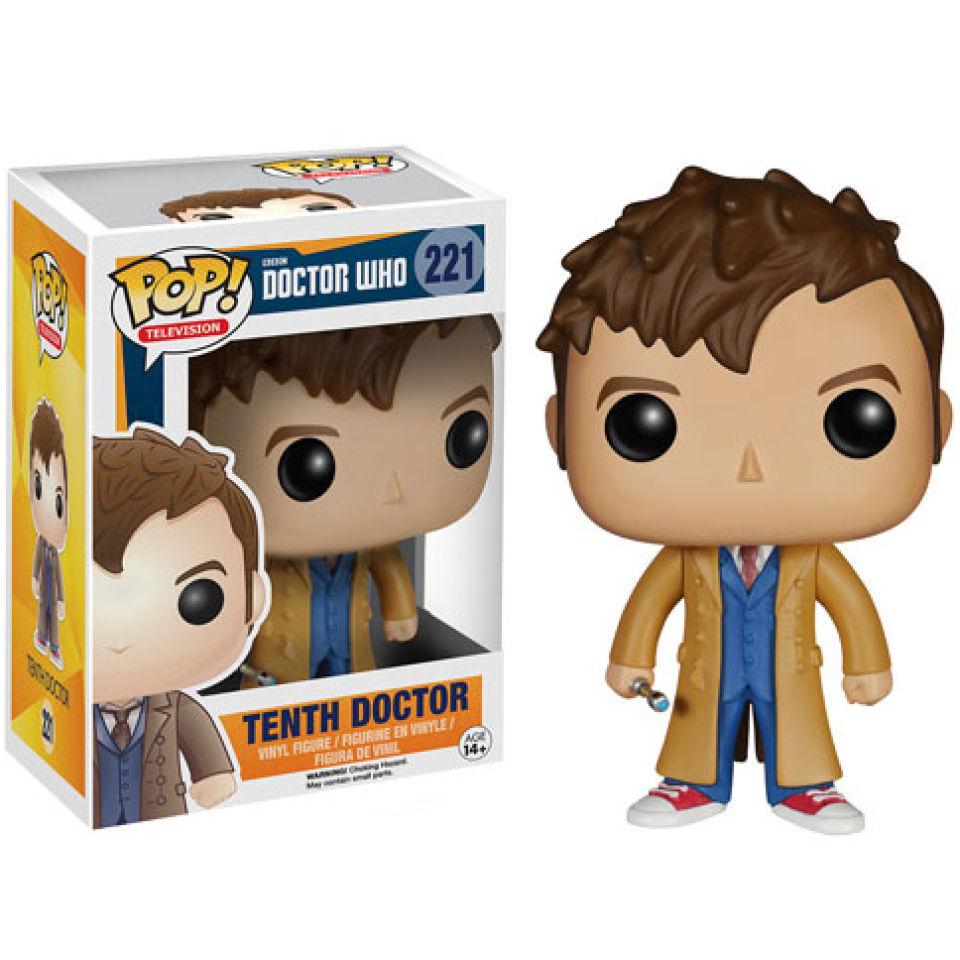 Doctor Who 10th Doctor Pop Vinyl Figure Pop In A Box Uk