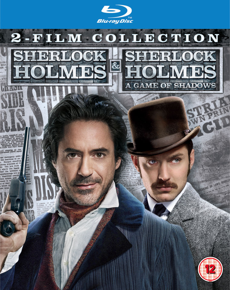 Sherlock Holmes 2 Film Collection Blu Ray Zavvi