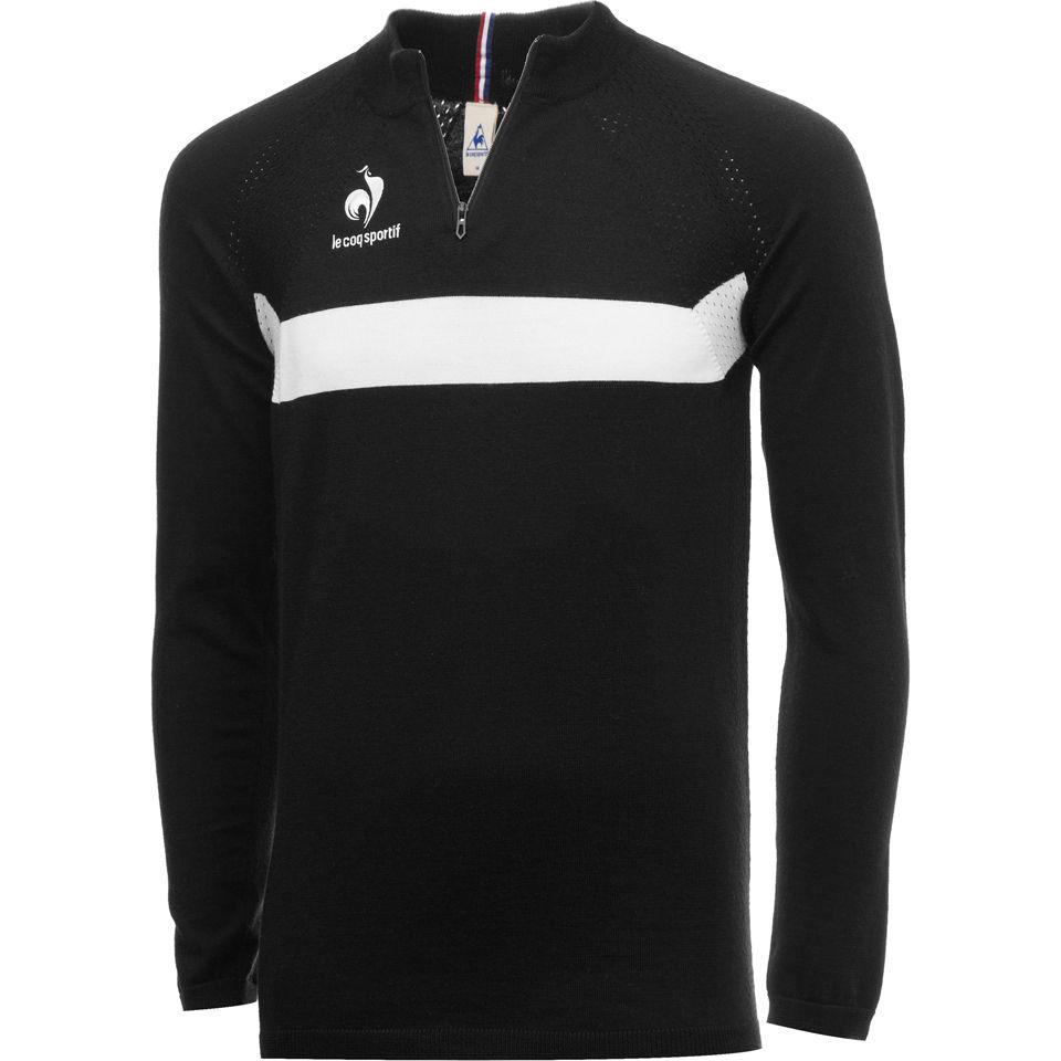Le Coq Sportif Men s Cycling Performance Nahon Sweater - Black Sports    Leisure  fe102a4a3