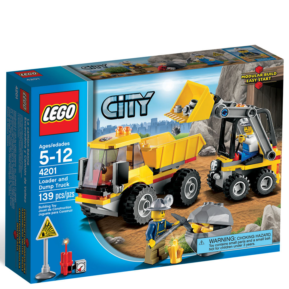 LEGO City 4201 Loader and Tipper