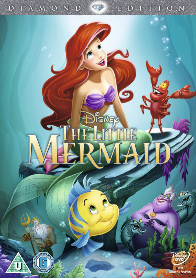 The Little Mermaid Dvd Zavvi