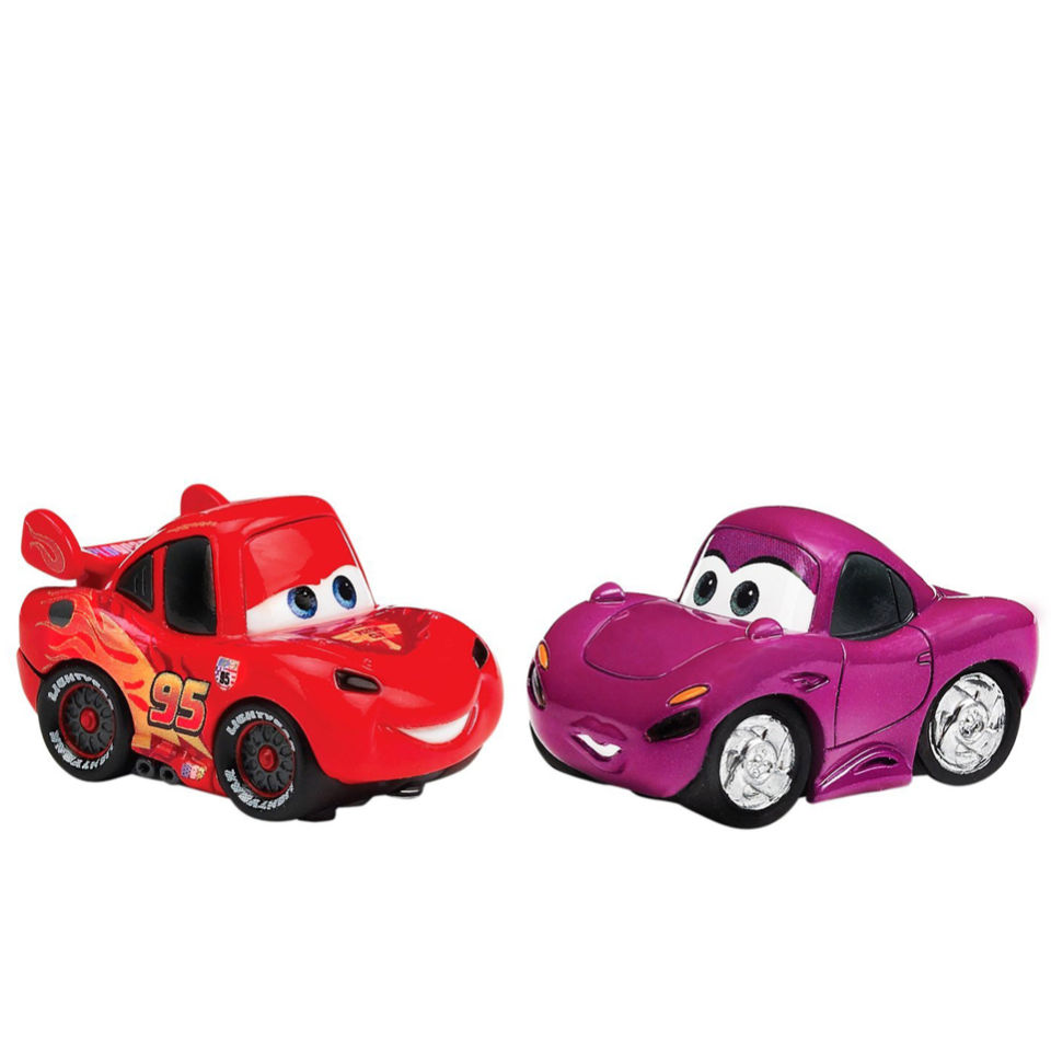 Disney Cars 2 Appmates Lightning Mcqueen And Holley