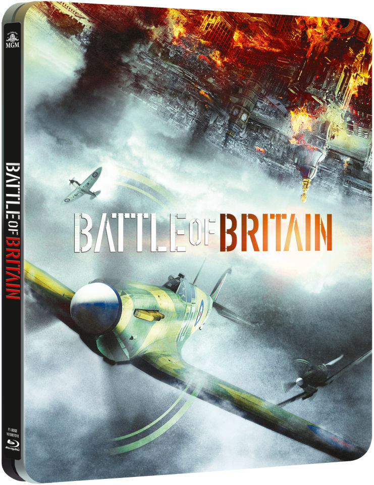 Battle Of Britain Steelbook Edition Blu Ray Zavvi