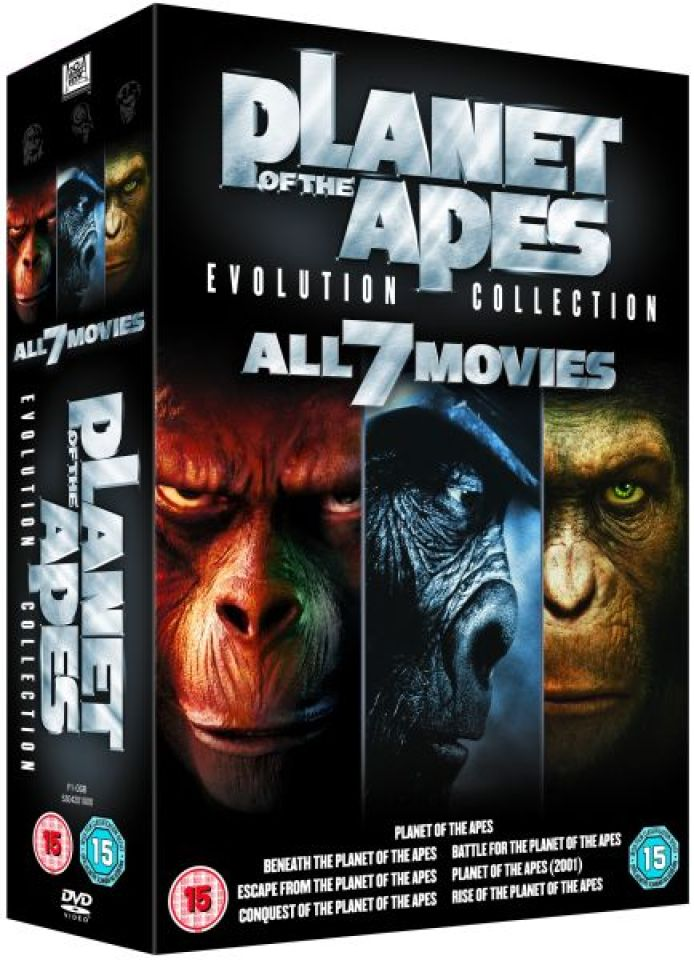 planet of the apes evolution collection blu ray with 10565196 on Big Brother Eye Logos Through History likewise 180706436316 moreover Pla  Of The Apes 40 Year Evolution Blu Ray Set Details 33267 moreover Index moreover Many Rejected Posters Jurassic Park.