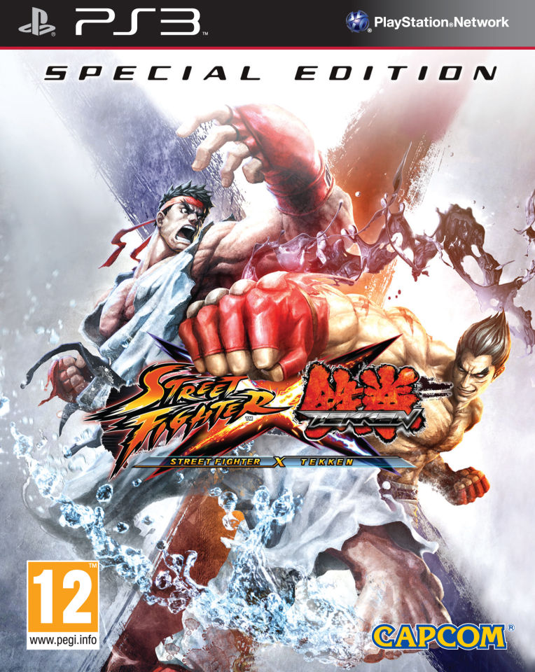 Street Fighter X Tekken Special Edition Ps3 Zavvi Com