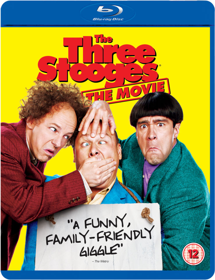 The Three Stooges Blu Ray Zavvi