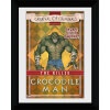 Batman Circus Crocodile Man - 30 x 40cm Collector Prints: Image 1