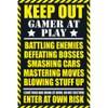 Gaming Keep Out - Clean - Maxi Poster - 61 x 91.5cm: Image 1