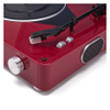 GPO Retro Stylo Turntable (3 Speed) with Built-In Speakers - Red: Image 4