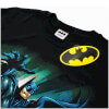 DC Comics Men's Batman Reaching Jump T-Shirt - Black : Image 2