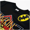 DC Comics Men's Batman Rockin N Rollin T-Shirt - Black: Image 2