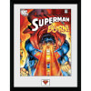 DC Comics Superman Burn - 16x12 Framed Photographic: Image 1