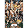 Attack on Titan Collage - Maxi Poster - 61 x 91.5cm: Image 1
