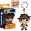 Doctor Who 4th Doctor Pocket Pop! Vinyl Figure Key Chain: Image 1