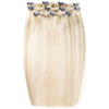 Beauty Works Deluxe Clip-In Hair Extensions 18 Inch - LA Blonde 613/24: Image 1