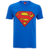 DC Comics Men's Superman Logo T-Shirt - Royal Blue: Image 1