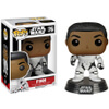 Star Wars The Force Awakens Stormtrooper Finn With Blaster Pop! Vinyl Figure: Image 1