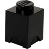 LEGO Storage Brick 1 - Black: Image 1