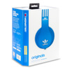 adidas Originals by Monster Headphones (3-Button Control Talk & Passive Noise Cancellation) - Blue: Image 6