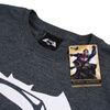 DC Comics Men's Batman v Superman Logo T-Shirt - Dark Heather: Image 4